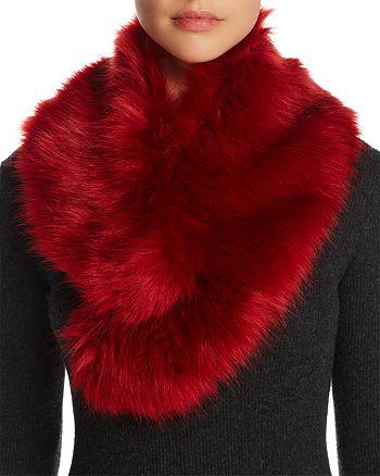 Cara New York - Faux Fur Collar - 100% Exclusive