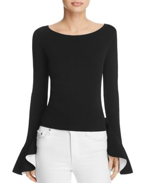Milly Bell-Sleeve Top