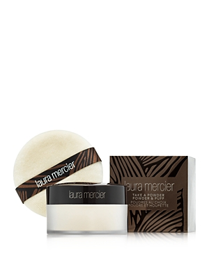 Laura Mercier Take a Powder Translucent Loose Setting Powder & Puff Set