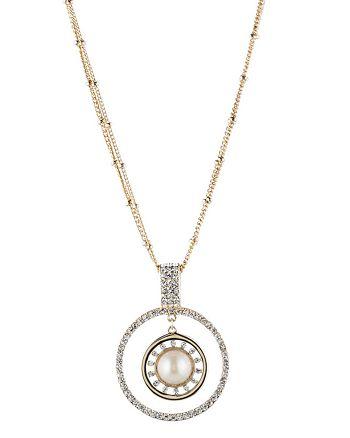 """Carolee - Pendant Necklace, 34"""""""