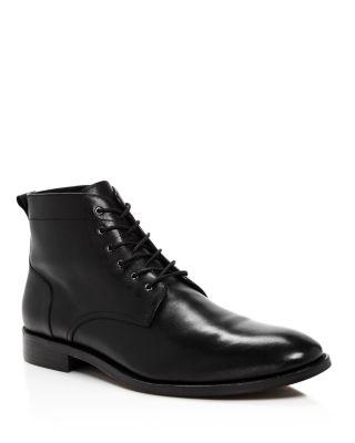 THE MEN'S STORE AT BLOOMINGDALE'S The Men'S Store At Bloomingdale'S Men'S Leather Boots - 100% Exclusive in Black