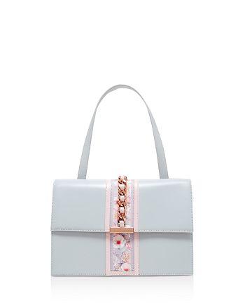 Ted Baker - Chelsea Print Detail Leather Shoulder Bag