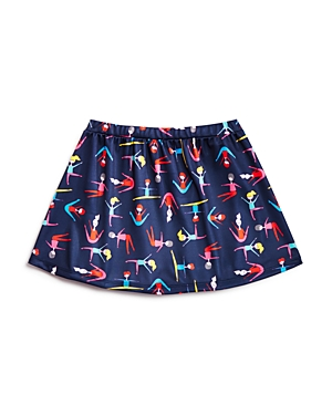 Margherita Kids Girls Stretching Print Skirt  Little Kid