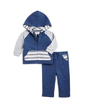 Bloomies Boys Striped Hoodie  Pants Set Baby  100 Exclusive