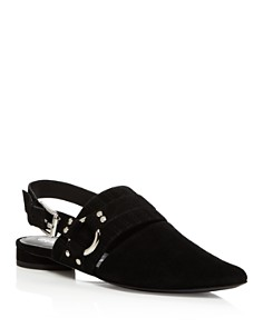 Opening Ceremony - Women's Alexx Suede Slingback Harness Flats