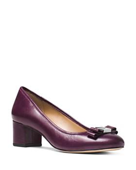 MICHAEL Michael Kors - Women's Caroline Mid Block Heel Pumps
