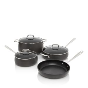 All-Clad Hard Anodized Non-Stick 7-Piece Set - 100% Exclusive