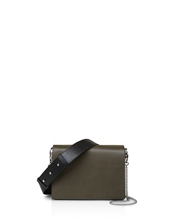 ALLSAINTS - Zep Color Block Leather Shoulder Bag
