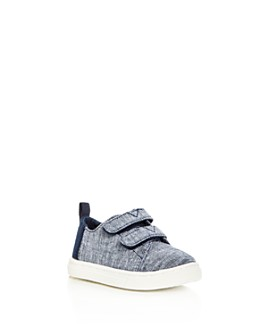 TOMS - Unisex Lenny Chambray Double Strap Sneakers - Walker, Toddler