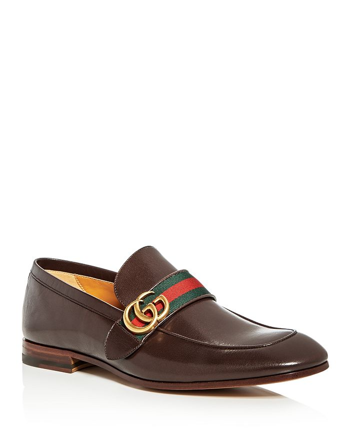 33c7bae79441 Gucci Men's Donnie Leather Loafers | Bloomingdale's