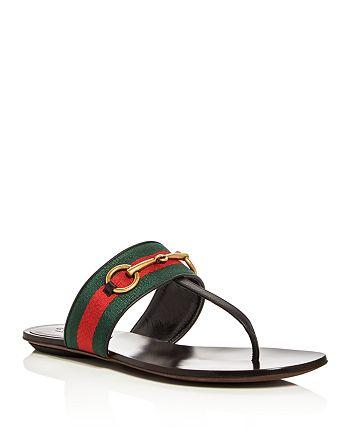 Gucci - Women's Querelle Thong Sandals