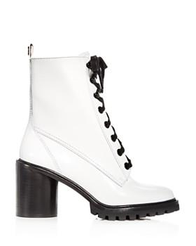 MARC JACOBS - Women's Ryder Leather High-Heel Booties