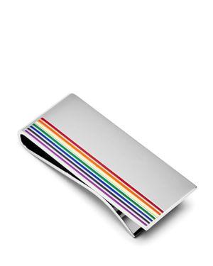 Paul Smith Enamel Rainbow Money Clip 2639045