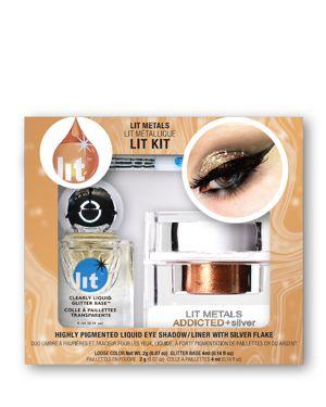 LIT COSMETICS Lit Metals Metallic Pigment Lit Kit in Addicted