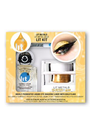 LIT COSMETICS Lit Metals Metallic Pigment Lit Kit in Glisten