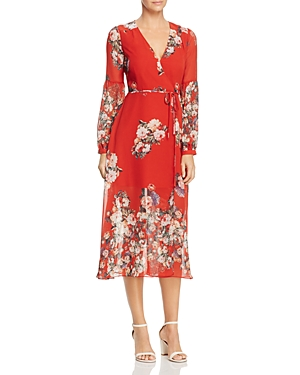 Re: Named Natalia Floral Wrap Dress