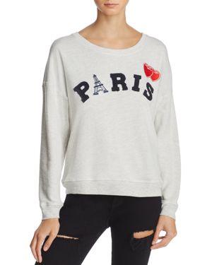 Rails Kelli Paris Applique Sweatshirt
