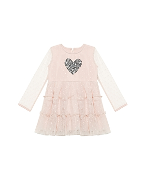 Bardot Junior Girls Spotted SequinHeart Dress  Baby