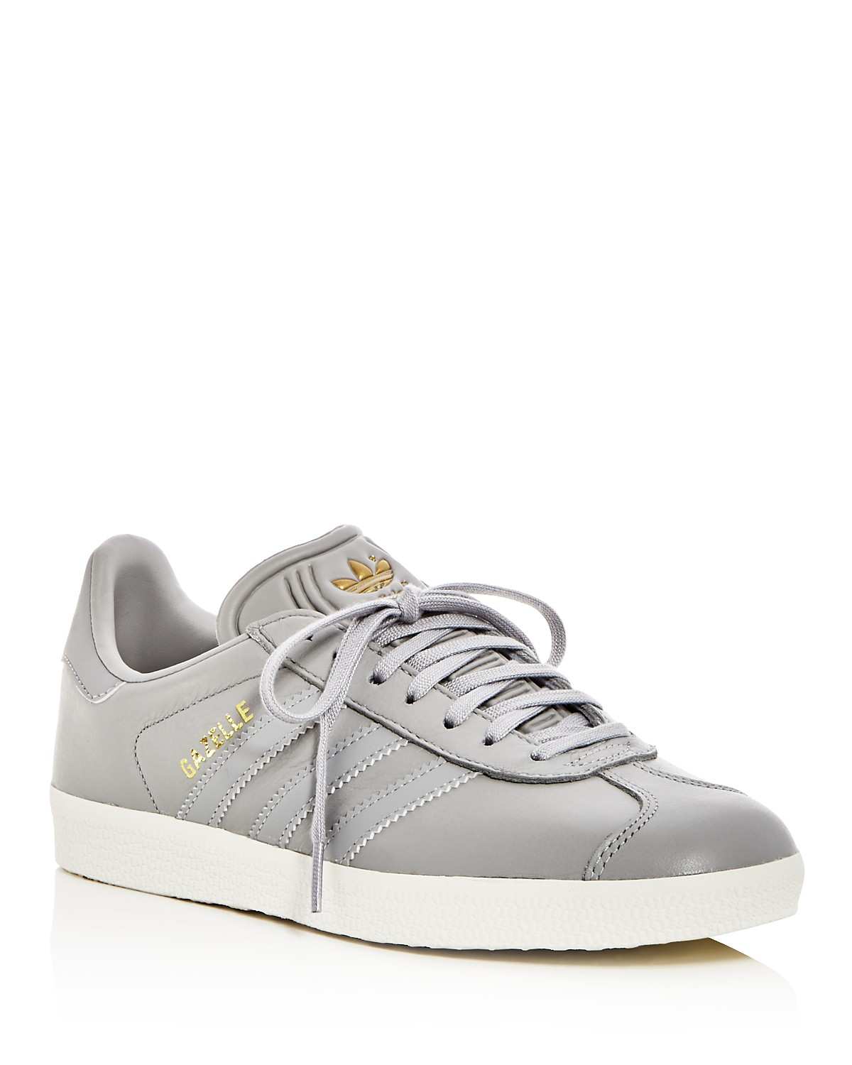 adidas Women's Gazelle Leather Lace Up Sneakers t89rqM