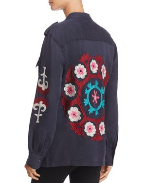 Rails Elliot Embroidered Utility Jacket