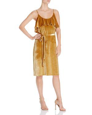 Elliatt Ruffle Velvet Dress - 100% Exclusive