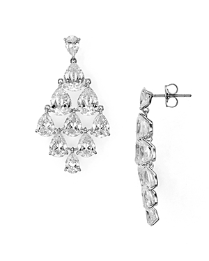 Nadri Drop Chandelier Earrings
