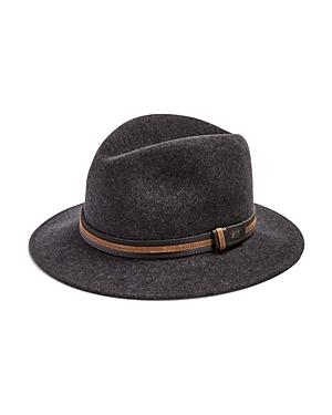 Bailey of Hollywood Brandt Lanolux Center Dent Crown Hat