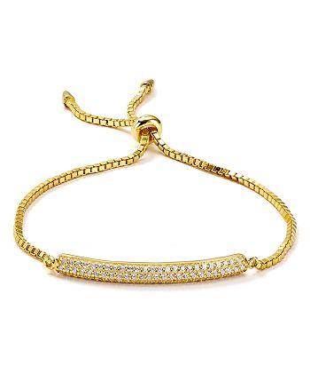 Argento Vivo - Pavé Adjustable Bracelet