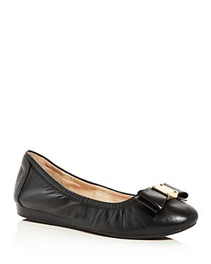 New Cole Haan Tali Flex Ballet Flats, Flats, Black Leather