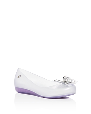 Mini Melissa Girls' Mini Ultragirl Fly Ballet Flats - Little Kid, Big Kid