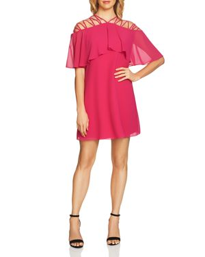 CeCe by Cynthia Steffe Taylor Lattice Dress
