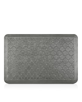 WellnessMats - Estates Silver Leaf Trellis Mat