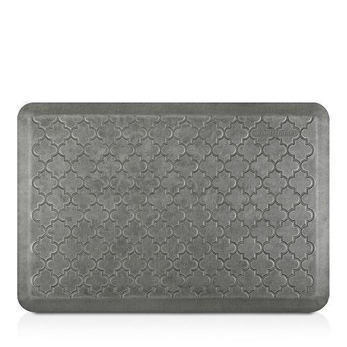 WellnessMats - Estates Silver Leaf Trellis Mat