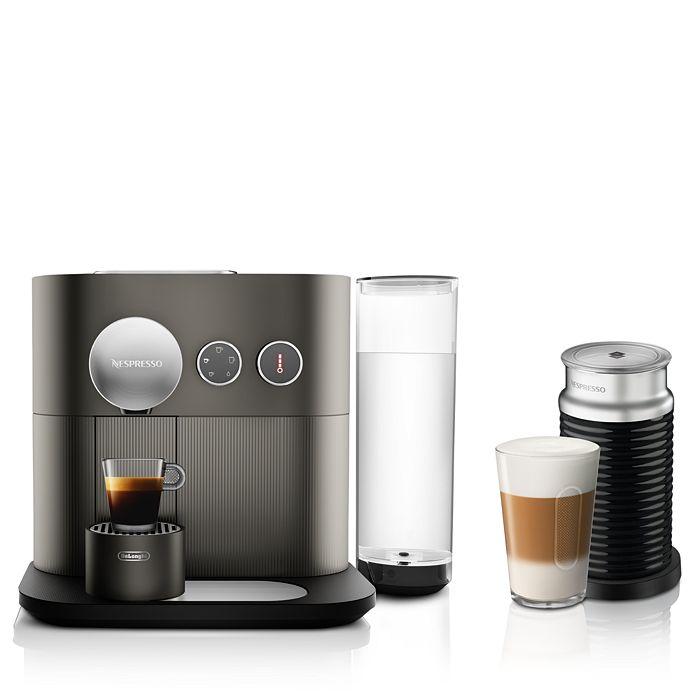 Nespresso - Expert Espresso Machine by De'Longhi with Aeroccino Milk Frother