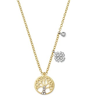 Click here for Meira T 14K White and Yellow Gold Diamond Tree of... prices