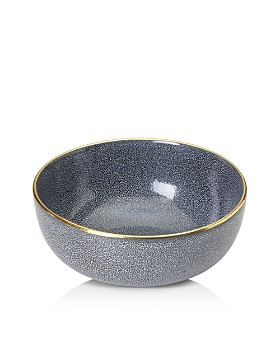 """Michael Wainwright - Panthera Blue and Gold 10"""" Serving Bowl - 100% Exclusive"""