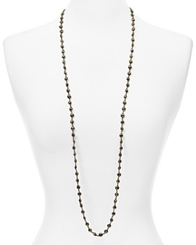 Ela Rae - Diana Coin Necklace, 40""