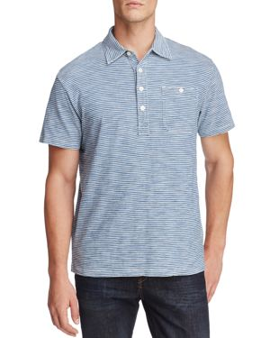 Oobe Fairfield Stripe Short Sleeve Polo Shirt