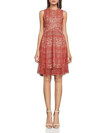 BCBGMAXAZRIA - Sleeveless Lace Dress
