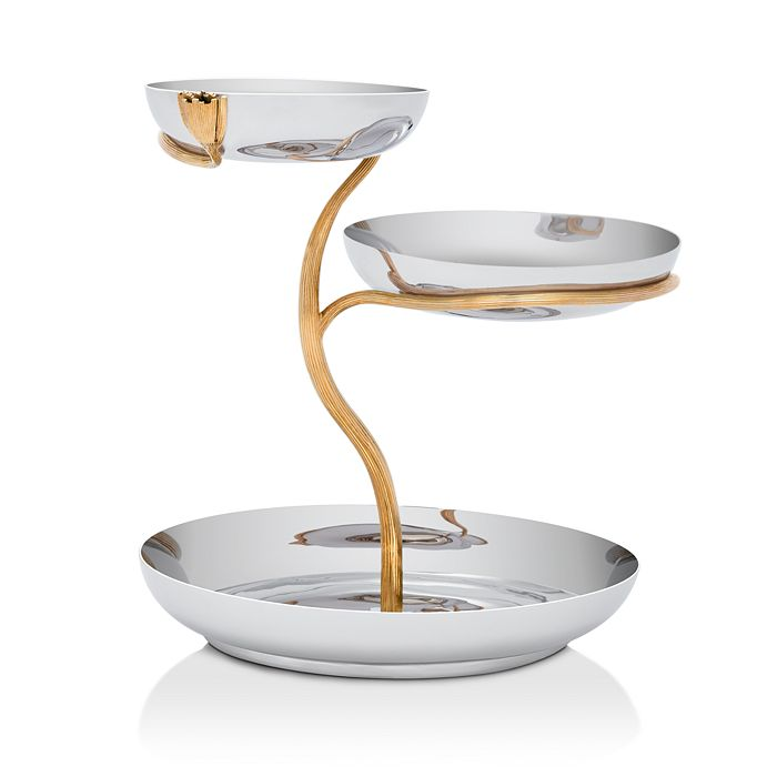L'Objet - Deco Leaves Three Tier Large Server