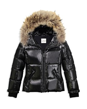 SAM. - Girls' Blake Fur-Trimmed Down Jacket - Big Kid