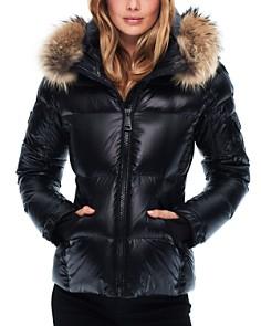 SAM. - Blake Fur-Trim Short Down Coat