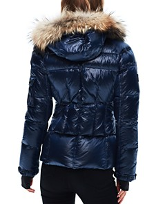 SAM. - Blake Fur-Trim Short Down Coat