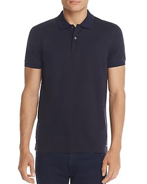 Boss Philipson Micro Check Short Sleeve Polo Shirt