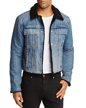 Helmut Lang Sherpa Lined 87 Denim Jacket