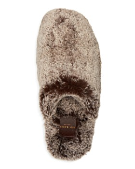 Ted Baker - Men's Nnyah Faux Fur Slippers