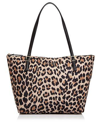 kate spade new york - Watson Lane Maya Leopard Print Nylon Tote
