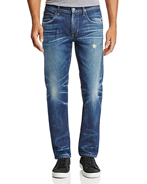 Hudson Blake Slim Straight Jeans in Operation