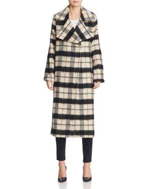 Ppla Livia Check Coat