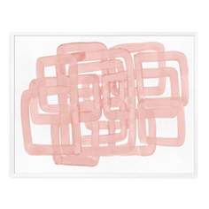 Bloomingdale's Artisan Collection - Pink Spaces II Wall Art
